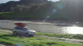 2018 Subaru Outback TV Spot, 'Our Most Adventurous Outback' [T2] - Thumbnail 1