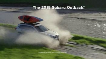 2018 Subaru Outback TV Spot, 'Our Most Adventurous Outback' [T2] - Thumbnail 2