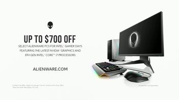 Intel TV Spot, 'Alienware: Machines That Make Champions' - Thumbnail 10