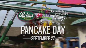 Perkins Restaurant & Bakery Pancake Day TV Spot, 'Give Kids the World' - Thumbnail 5