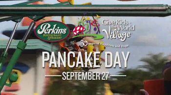 Perkins Restaurant & Bakery Pancake Day TV Spot, 'Give Kids the World' - Thumbnail 6
