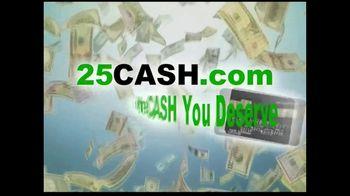 25CASH.com TV Spot, 'Fast Cash Now' - Thumbnail 4