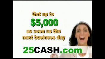 25CASH.com TV Spot, 'Fast Cash Now' - Thumbnail 5