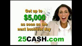 25CASH.com TV Spot, 'Fast Cash Now' - Thumbnail 6
