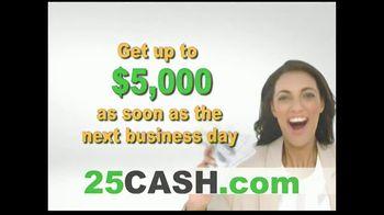 25CASH.com TV Spot, 'Fast Cash Now' - Thumbnail 7