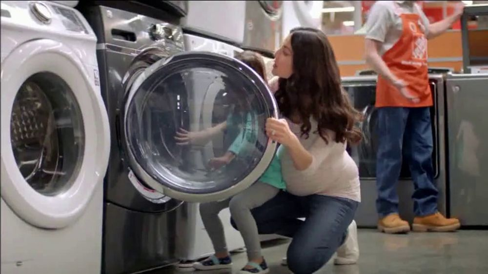 The Home Depot Labor Day Savings Tv Commercial More Samsung Laundry Pair Video