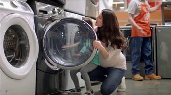 The Home Depot Labor Day Savings TV Spot, 'More: Samsung Laundry Pair'
