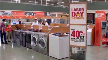 The Home Depot Labor Day Savings TV Spot, 'More: Samsung Laundry Pair' - Thumbnail 5