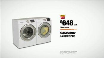 The Home Depot Labor Day Savings TV Spot, 'More: Samsung Laundry Pair' - Thumbnail 9