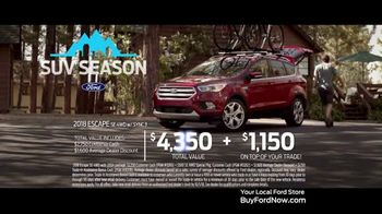 Ford SUV Season TV Spot, 'On Your Own' [T2] - Thumbnail 8