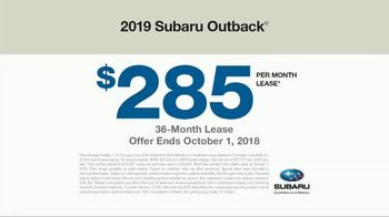 2019 Subaru Outback TV Spot, 'See the World' [T2] - Thumbnail 8