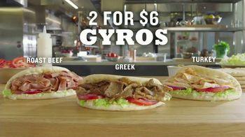 Arby's 2 for $6 Gyros TV Spot, 'Two Fer' Ft. H. Jon Benjamin - Thumbnail 6