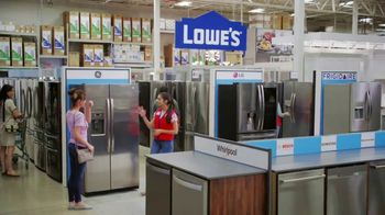 Lowe's TV Spot, 'The Fridge Moment: Appliance Special Values' - Thumbnail 5