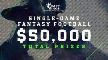 DraftKings TV Spot, 'Chicago vs. Green Bay' - Thumbnail 2