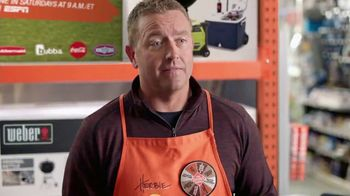 The Home Depot TV Spot, 'ESPN: Game Day: Weber Grill' Feat. Desmond Howard - 18 commercial airings