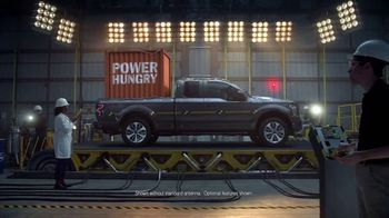 Ford F-150 TV Spot, 'Power Hungry' [T1] - 61 commercial airings