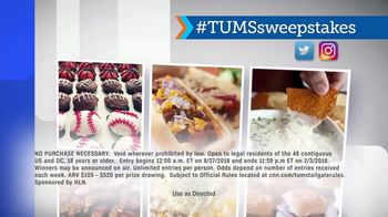 HLN TUMS Ultimate Tailgate Sweepstakes TV Spot, 'Upgrade Your Tailgate' - Thumbnail 9
