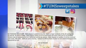 HLN TUMS Ultimate Tailgate Sweepstakes TV Spot, 'Upgrade Your Tailgate' - Thumbnail 7