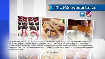 HLN TUMS Ultimate Tailgate Sweepstakes TV Spot, 'Upgrade Your Tailgate' - Thumbnail 8
