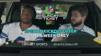 DIRECTV Special Kickoff Offer TV Spot, 'NFL Sunday Ticket Max: Window' - Thumbnail 9