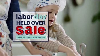 Ashley HomeStore Labor Day Held Over Sale TV Spot, 'Absolutely Ends Monday'