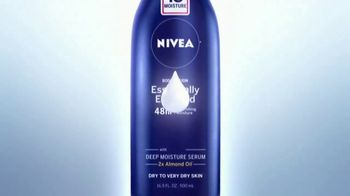 Nivea Essentially Enriched Body Lotion TV Spot, 'Deeply Nourishes' - Thumbnail 2