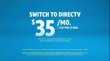 DIRECTV TV Spot, 'More For Your Thing: Signs: $35' - Thumbnail 9