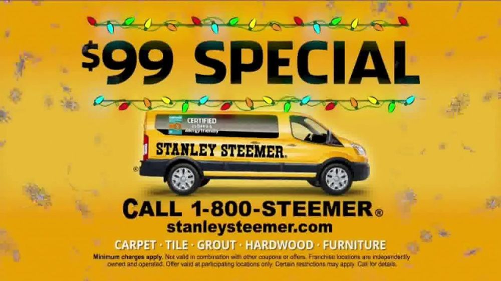 Stanley Steemer 99 Special Tv Commercial Ready For The