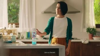 Lysol Disinfectant Spray TV Spot, 'Fake It' - Thumbnail 7