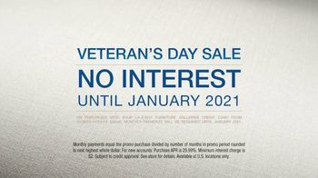 La-Z-Boy Veteran's Day Sale TV Spot, 'Melissa Match' - Thumbnail 9
