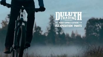 Duluth Trading Company Flexpedition Pants TV Spot, 'Forecasts Are Fickle' - Thumbnail 9