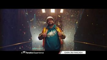 Fanatics.com TV Spot, 'A Fanatics Experience' Song by Greta Van Fleet - Thumbnail 1