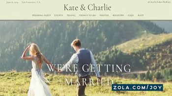 Zola TV Spot, 'Where to Start' - Thumbnail 6