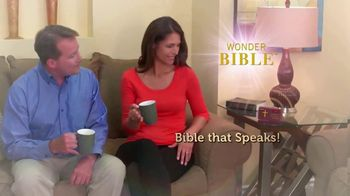 Wonder Bible TV Spot, 'The Bible That Speaks' Featuring Pat Boone - Thumbnail 2