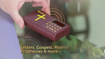 Wonder Bible TV Spot, 'The Bible That Speaks' Featuring Pat Boone - Thumbnail 4