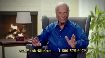 Wonder Bible TV Spot, 'The Bible That Speaks' Featuring Pat Boone - Thumbnail 6
