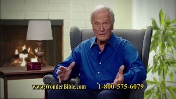 Wonder Bible TV Spot, 'The Bible That Speaks' Featuring Pat Boone