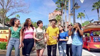 Walt Disney World TV Spot, 'Best Day Ever: Tower of Terror' Featuring Isaak Presley, Jenna Ortega, Peyton Elizabeth Lee, Karan Brar - Thumbnail 9