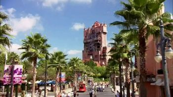 Walt Disney World TV Spot, 'Best Day Ever: Tower of Terror' Featuring Isaak Presley, Jenna Ortega, Peyton Elizabeth Lee, Karan Brar - Thumbnail 1