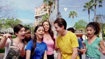 Walt Disney World TV Spot, 'Best Day Ever: Tower of Terror' Featuring Isaak Presley, Jenna Ortega, Peyton Elizabeth Lee, Karan Brar - Thumbnail 3