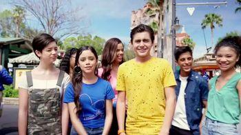 Walt Disney World TV Spot, 'Best Day Ever: Tower of Terror' Featuring Isaak Presley, Jenna Ortega, Peyton Elizabeth Lee, Karan Brar - Thumbnail 5