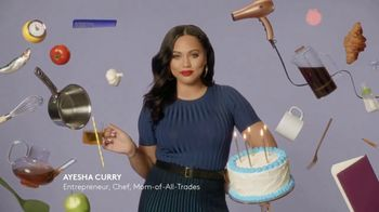 CoverGirl Outlast All-Day Lip Color TV Spot, 'Outlast Happens Once' Featuring Ayesha Curry