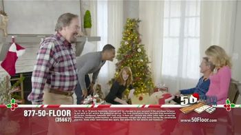 50 Floor TV Spot, 'Holidays: 'Tis the Season' Featuring Richard Karn - Thumbnail 1