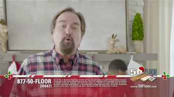 50 Floor TV Spot, 'Holidays: 'Tis the Season' Featuring Richard Karn - Thumbnail 2