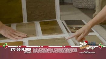 50 Floor TV Spot, 'Holidays: 'Tis the Season' Featuring Richard Karn - Thumbnail 4