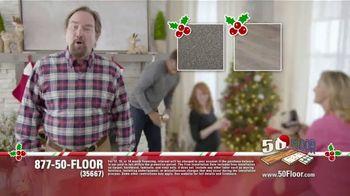 50 Floor TV Spot, 'Holidays: 'Tis the Season' Featuring Richard Karn - 2 commercial airings