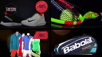 Tennis Express Friends & Family Sale TV Spot, 'Shoes, Apparel and Rackets' - Thumbnail 4
