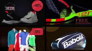 Tennis Express Friends & Family Sale TV Spot, 'Shoes, Apparel and Rackets' - Thumbnail 6