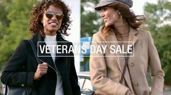 Macy's Veterans Day Sale TV Spot, 'Great Coat & Boot Sale and Men's Event'