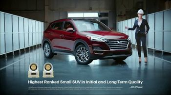 2018 Hyundai Tucson TV Spot, 'Built Right In' [T2] - 97 commercial airings